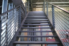 Industrial-metal-stairway-RAW Metal Works