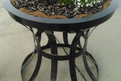Iron-Circular-Plant-Stand-2 - RAW-Metal-Works
