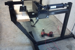 Custom-hydraulic clamp-RAW-Metal Works