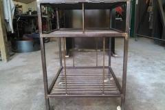 Side view metal cart-RAW Metal Works