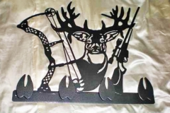 Deer-Hunting-Metal-Sign-RAW Metal Works