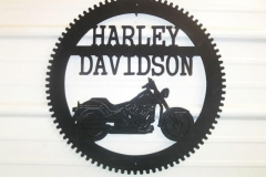 Metal-Harley-Davidson-sign-RAW Metal Works