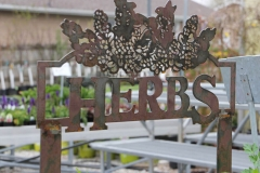 Metal-Herb-Sign - RAW Metal Works